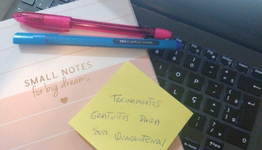 Treinamentos gratuitos na quarentena: Soft Skills, SAP, BigData,Empreendedorismo,Cultura e Arte.