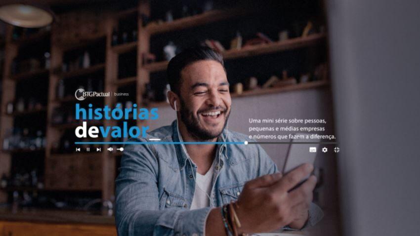 """Série """"Histórias de Valor"""" com empreendedores brasileiros, começa dia 03 de agosto."""