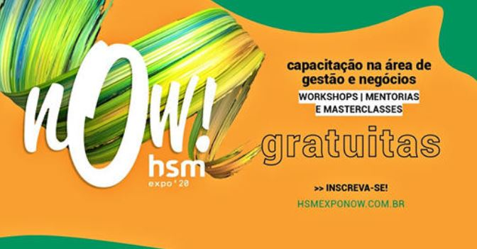 FAÇA PARTE DO MOVIMENTO HSM EXPO NOW!