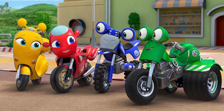 Empatia, amizade e cooperação são valores apresentados na 2ª temporada de Ricky Zoom.